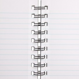 BILT Premium Spiral Office Notebook  - A5, 70 GSM, 160 pages, Single Ruled
