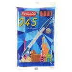 Reynolds 045 Stick Ballpoint Pen, Red- Pack of 10